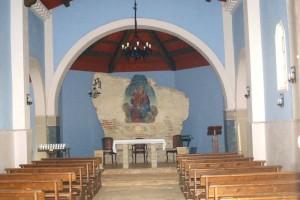 Affresco interno Santuario Madonna dei Penitenti