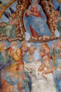 Affresco  Santuario Madonna Addolorata